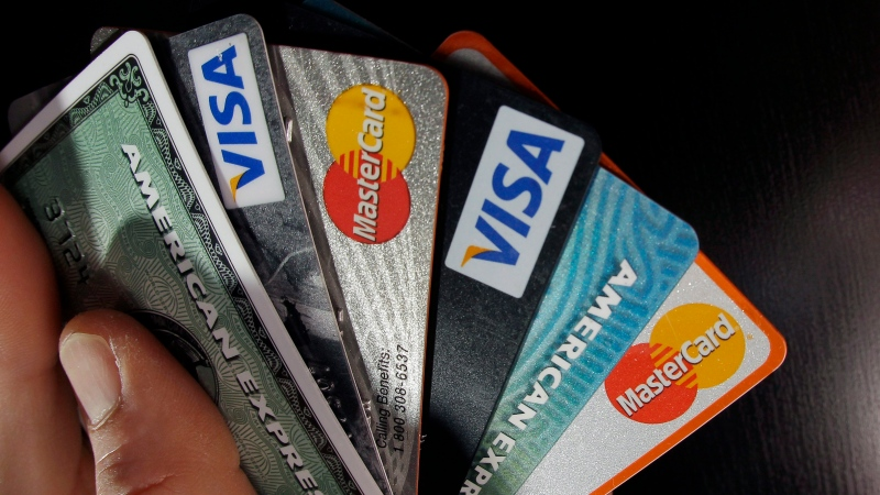 Credit cards are seen in this undated file photo. (File)