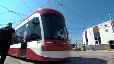 The TTC unveiled the new streetcar in Toronto