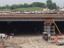 Windsor Parkway girders
