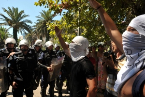 Protests erupt at Montenegro gay pride event