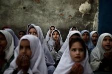 Pakistani superhero defends girls' education