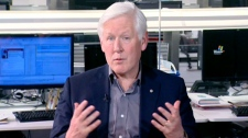 Liberal candidate Bob Rae speaks to Canada AM, Tuesday, May 3, 2011.