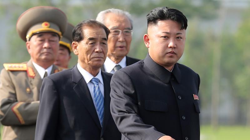 Kim Jong Un attends Korean War memorial