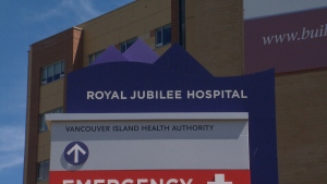 B.C.'s Royal Jubilee Hospital is seen in a CTV file image.