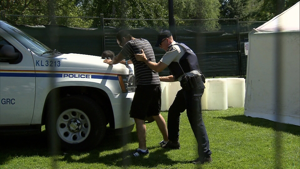 Kelowna Mounties say they are taking news of the city's high crime rate seriously. (CTV)