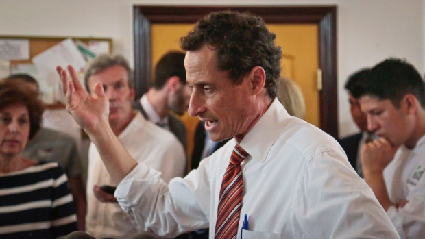 Anthony Weiner in New York