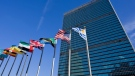 File photo of the exterior of the United Nations Secretariat building in New York City. (Stock image - The Canadian Press)