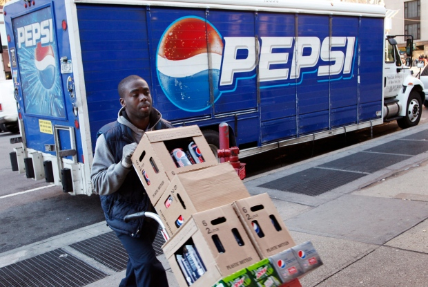 Pepsi products, delivery, New York