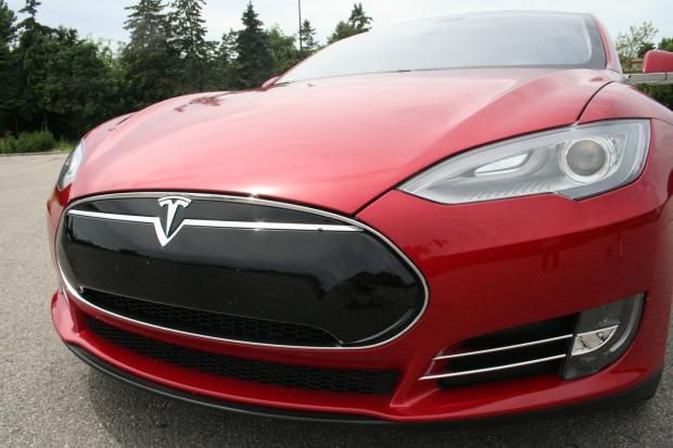 Tesla Front Profile