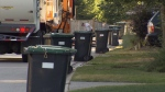 Vancouver garbage bins are seen in this file photo.