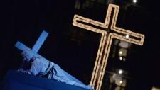 Rio's Copacabana stages solemn ritual