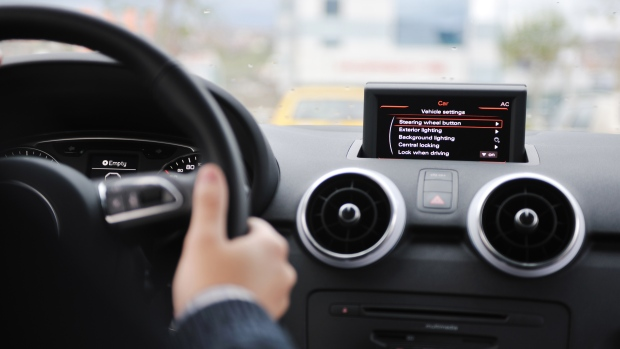 Computerized system in a car
