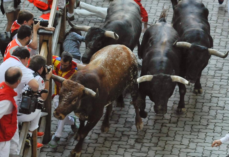 Spanish Bull Run Deaths to Death in Bull-running