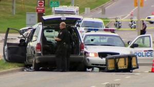 CTV Calgary: Shots fired in NE police chase
