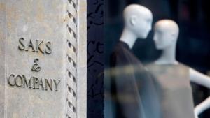 Saks & Company in New York, Aug. 15, 2011. (AP / Seth Wenig, File)