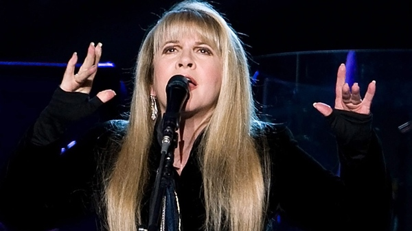 Stevie Nicks of Fleetwood Mac perform at Madison Square Garden in New York, March 19, 2009. (AP / Charles Sykes)