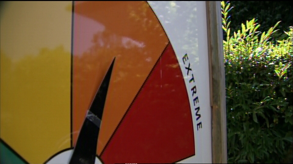 The fire risk could go up to extreme due to the dry weather in southern B.C. July 29, 2013. (CTV)