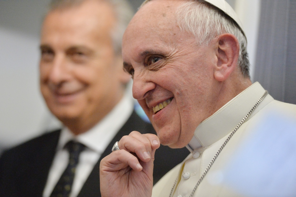 Pope Francis on priests' sexual orientation
