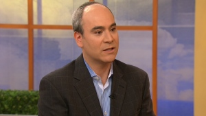Dr. Paul Cohen appears on Canada AM from CTV studios in Toronto.
