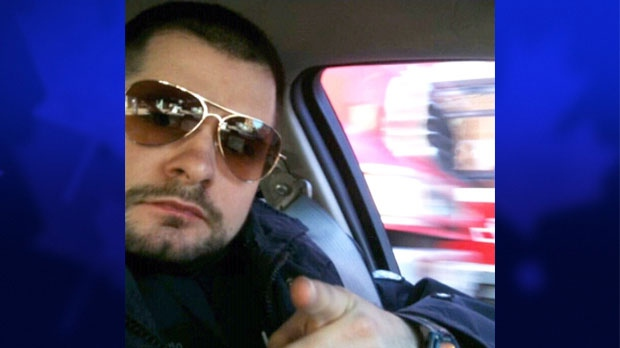 Toronto Police Service Const. James Forcillo, seen here as part of the Movember campaign for prostate cancer awareness, has been identified as the officer involved in the fatal shooting of 18-year-old Sammy Yatim.