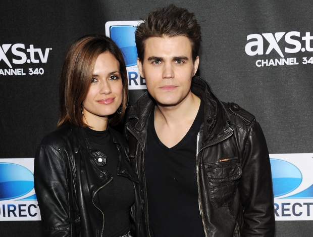 FILE - This Feb. 2, 2013 file photo shows actors Paul Wesley, right, and Torrey Devitto at DirecTV's Super Saturday Night party in New Orleans.  (Photo: Evan Agostini/Invision/AP, File)