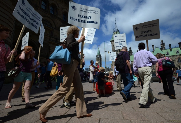Foreign workers strike hurting economy