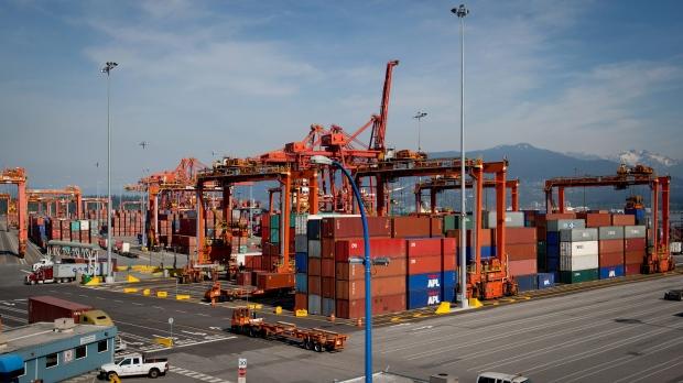 Port Metro Vancouver's Centerm container facility