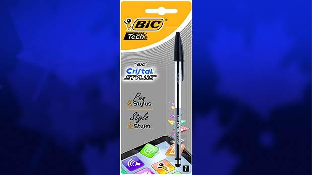 Bic Cristal Stylus pen