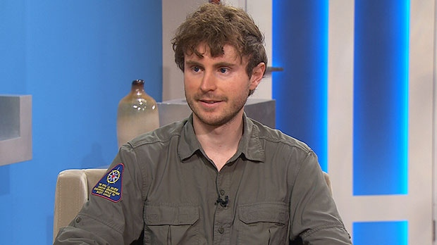 'Modern explorer' Adam Shoalts speaks on Canada AM, Thursday, Aug. 1, 2013.