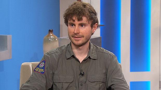 'Modern explorer' Adam Shoalts speaks on Canada AM, Thursday, Aug. 1, 2013.