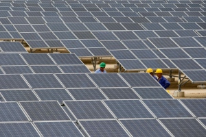 Cuba's first solar farm in Cantara