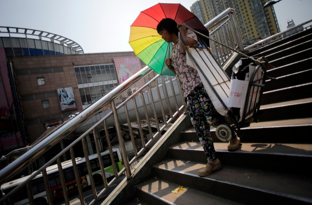 China dealing with intense heat wave