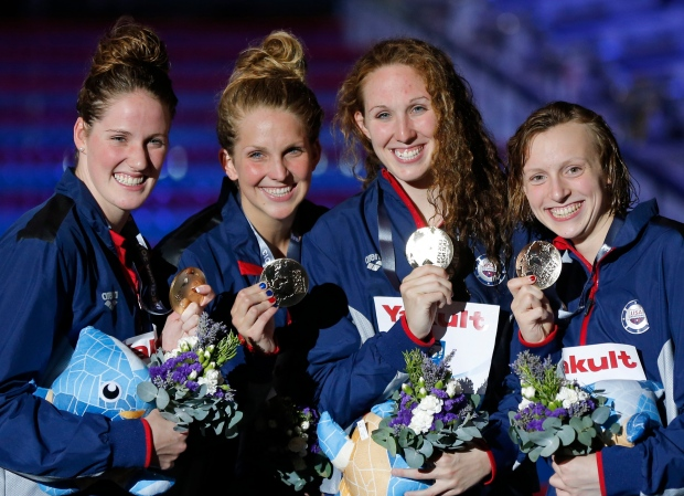 U.S. women's relay team