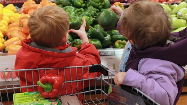 Kids food grocery