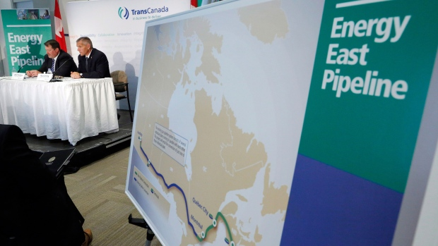 TransCanada won't move forward with Energy East pipeline