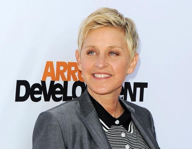 TV host Ellen DeGeneres
