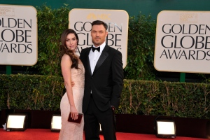 FILE - In this Jan. 13, 2013 file photo, actress Megan Fox and actor Brian Austin Green arrive at the 70th Annual Golden Globe Awards at the Beverly Hilton Hotel in Beverly Hills, Calif. (Photo by John Shearer/Invision/AP, File)