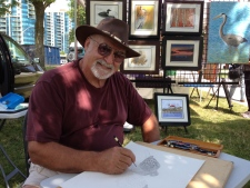 Artist Marc De Groote looks to may history at Kempenfest