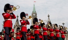 Ceremonial Guard on Parliament Hill