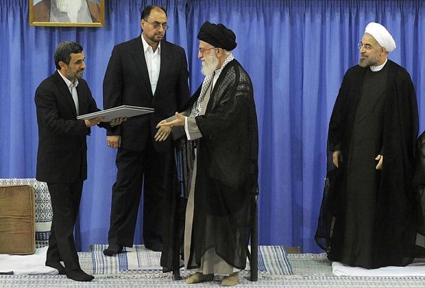 Iran's supreme leader endorses Rouhani