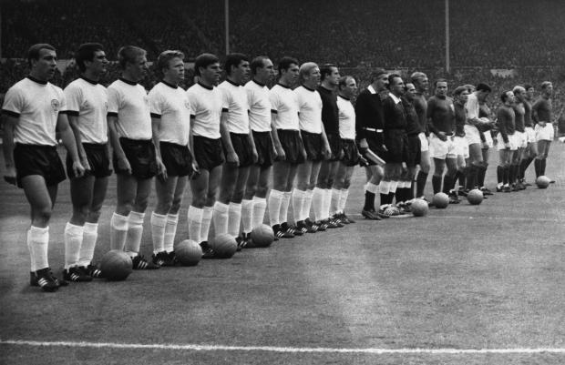 1966 West German Soccer Team