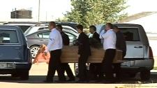 Funeral held for teens that died in crash