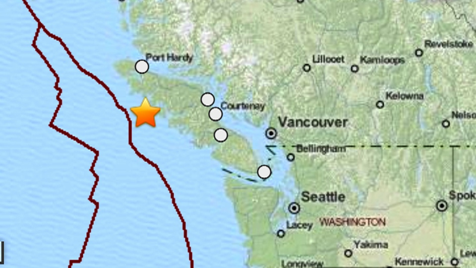 Earthquake In Vancouver Island Today
