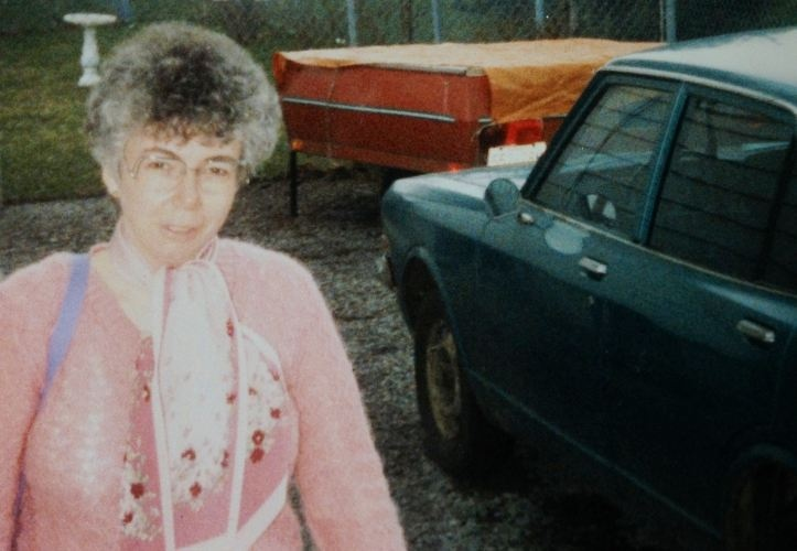 Mary Lemma is seen here but this photo is not recent