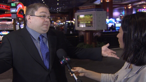 Casino doormen are primarily �ambassadors,� not security staff, said Great Canadian Casinos Vice President Howard Blank. (CTV)