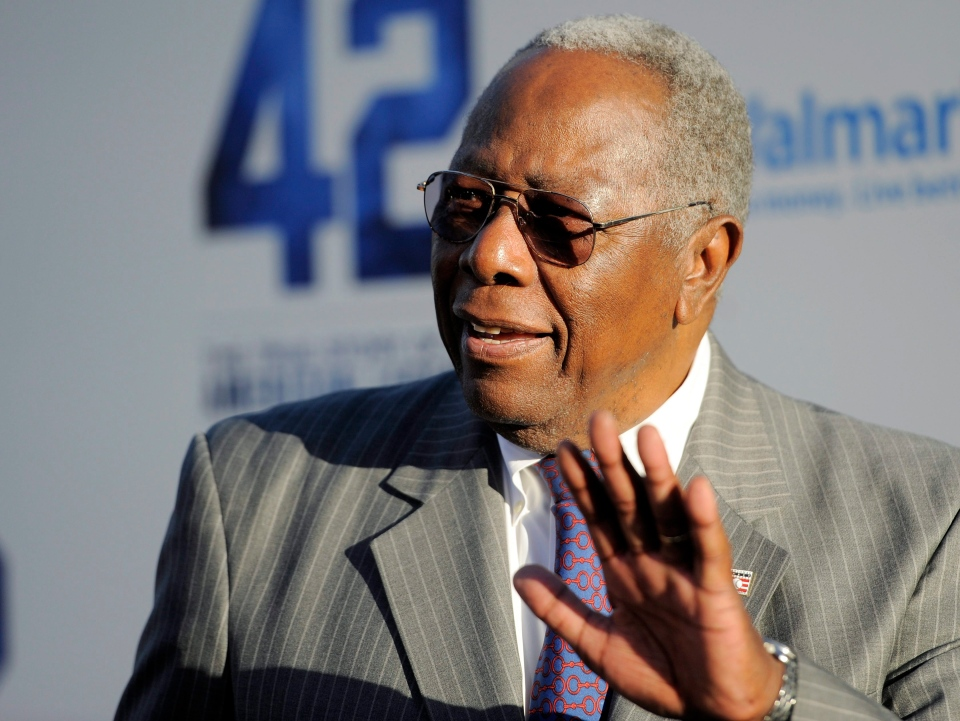 Baseball great Hank Aaron's home robbed