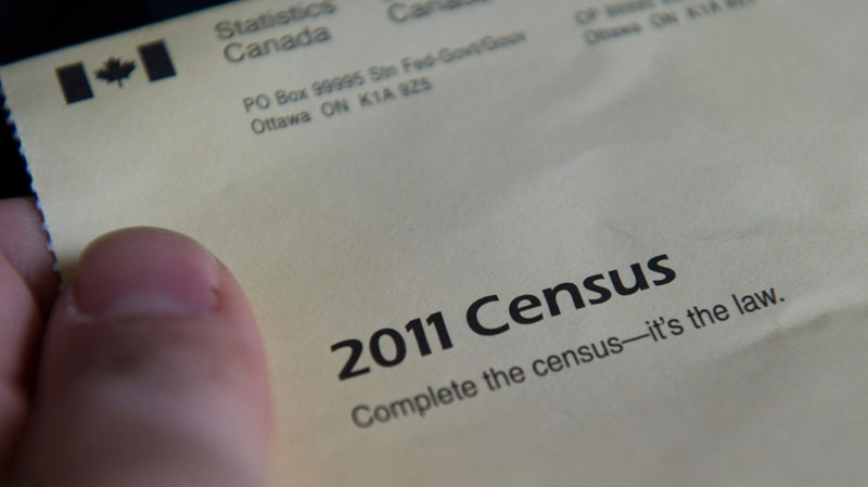 The cover of the 2011 Census package is seen in Ottawa on Thursday, May 5, 2011. (Sean Kilpatrick / THE CANADIAN PRESS)