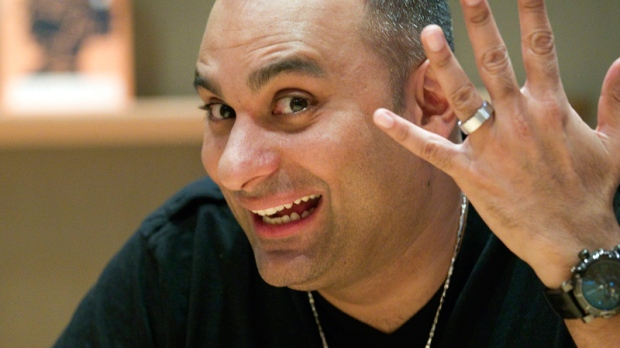 Russell Peters Wedding Russell Peters Shows Off His