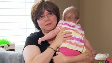 Moms at risk of post-partum depression