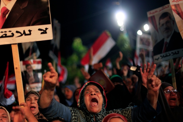 Egypt says efforts with Morsi supporters failed